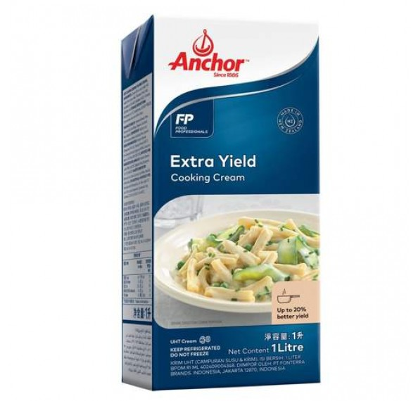 Anchor Extra Yield Cooking Cream 1L (Exp: 5/11/2021)