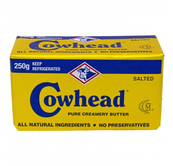 Cowhead Butter Salted 250GM