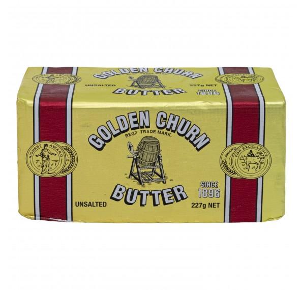 Golden Churn Butter Unsalted 277G