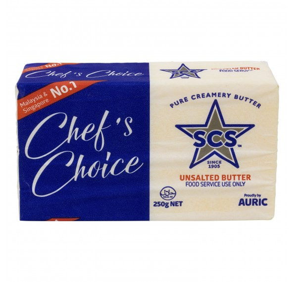 SCS Unsalted Butter 250G