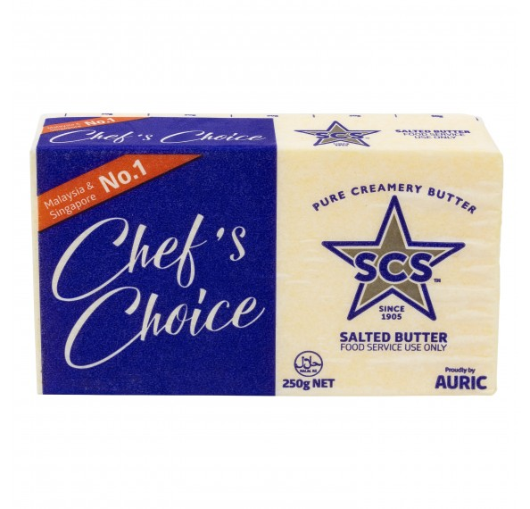 SCS Salted Butter 250G