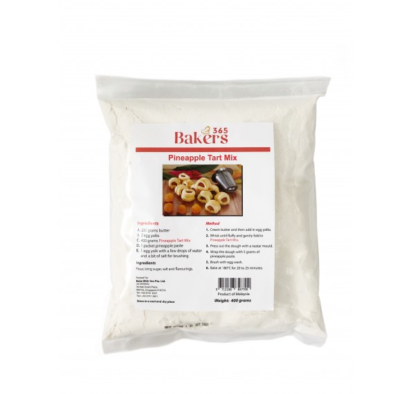 Bakers 365 Pineapple Tart Mix 400g