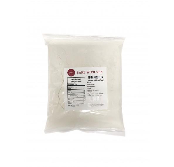 Golden Horse Bread Flour Unbleached 1kg (EXP:17/06/2021)
