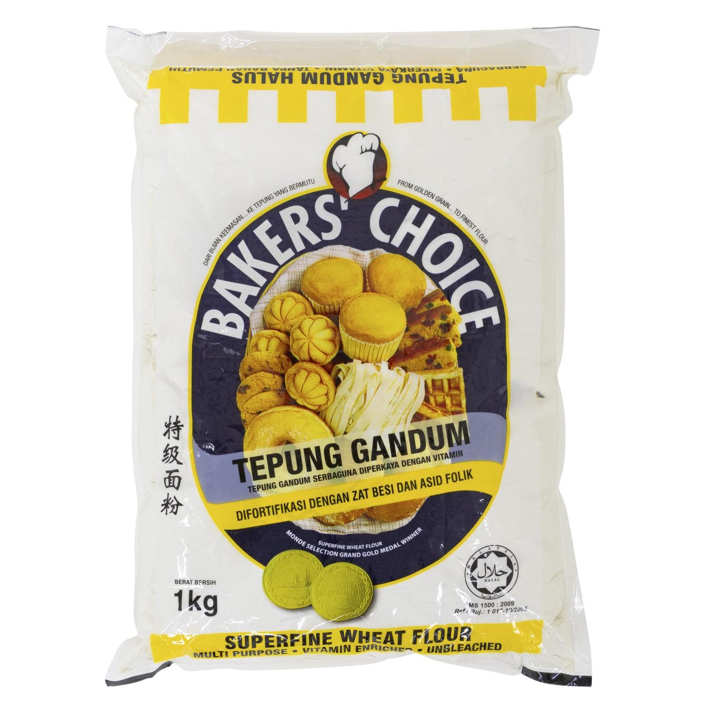 Tepung Gandum Baker S Choice 1kg