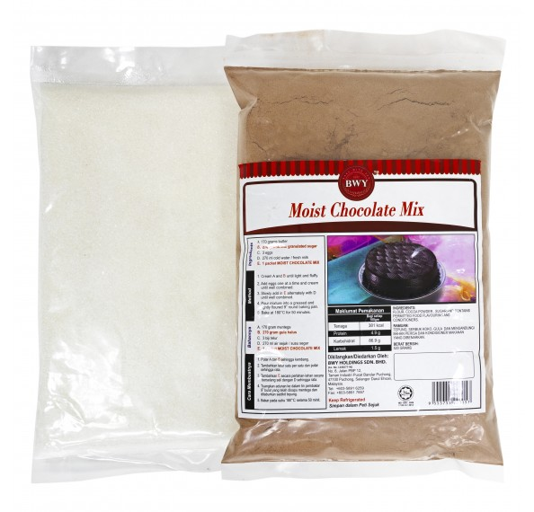 BWY Moist Chocolate Mix 520g