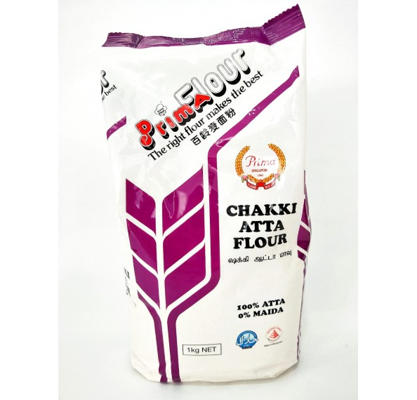 Prima Chakki Atta Flour 1KG