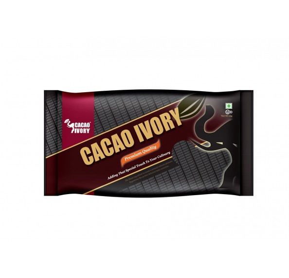 Cacao Ivory Dark Compound Buttons 1kg