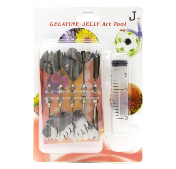 Gelatine/Jelly Art Tool Set