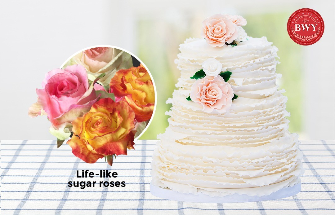 Rosemance Wedding Cake (This event has ended)